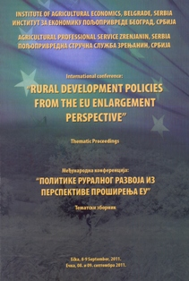 RURAL DEVELOPMENTS FROM THE EU ENLARGEMENT PERSPECTIVE