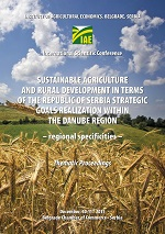 Sustainable agriculture and rural development iz terms of the Republic of Serbia strategic goals realizations within the Danube region