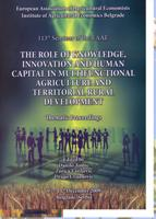 The role of knowledge, innovation and human capital in multifunctional agriculture and territorial rural development